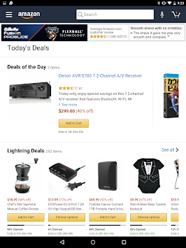 Amazon For Tablets APK screenshot thumbnail 5