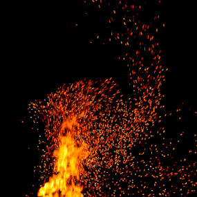 by Didik Rasidi - Abstract Fire & Fireworks