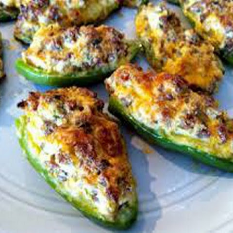 Chicken Stuffed Jalapenos