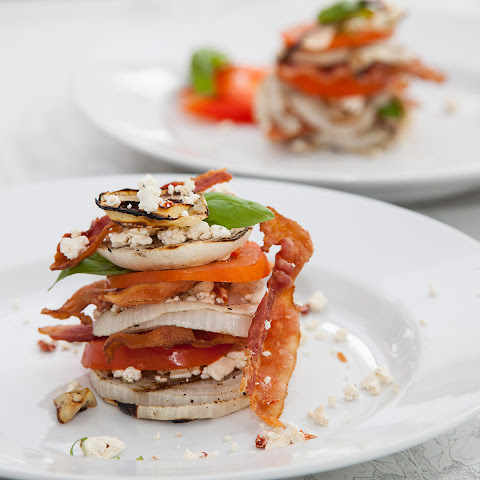 Grilled Vidalia Onion Stack