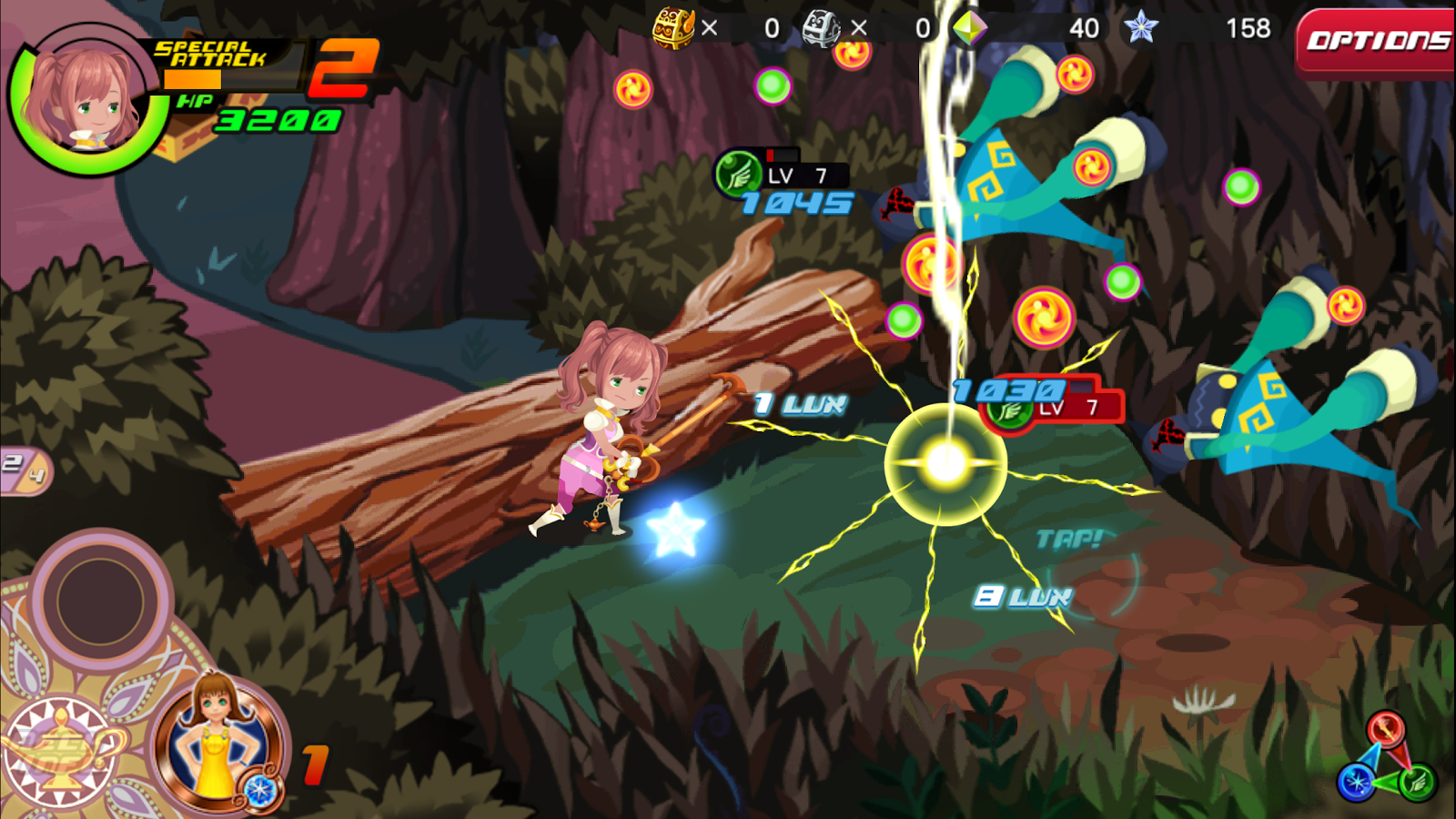 KINGDOM HEARTS Unchained χ Screenshot 12