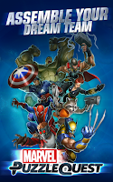 Screenshot of Marvel Puzzle Quest