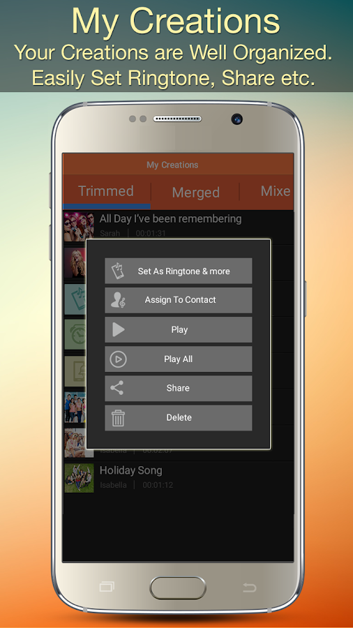 Audio MP3 Cutter Mix Converter and Ringtone Maker Screenshot 6