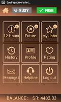 Screenshot of Driver App