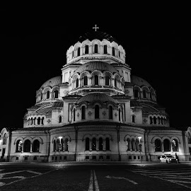 by Milen Metodiev - Buildings & Architecture Places of Worship ( buildings, alexander nevski, night )