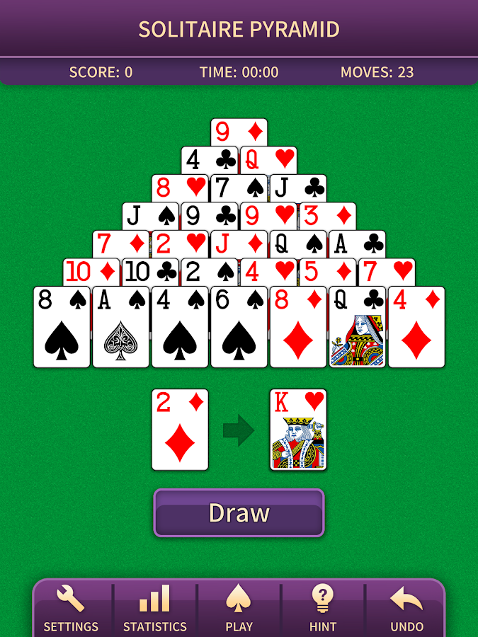 Pyramid Solitaire Screenshot 0