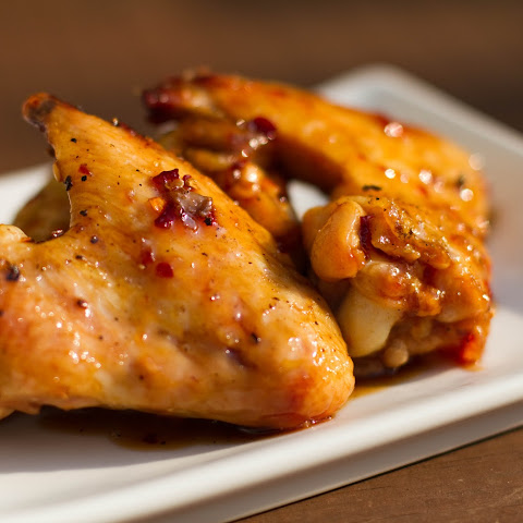 Grilled Chicken Wings with Asian Zing Sauce