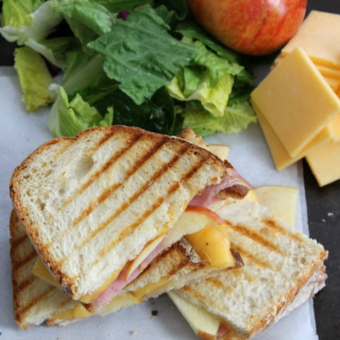 Smoked Ham Apple Gouda Panini
