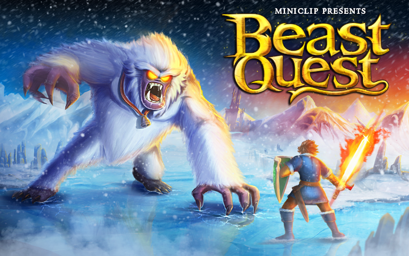 Beast Quest Android App Screenshot
