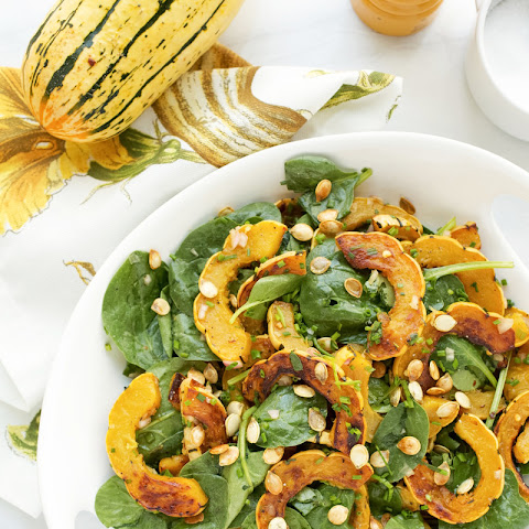 Delicata Squash with Brown Butter Vinaigrette