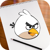 Learn To Draw Angry Birds APK for Bluestacks