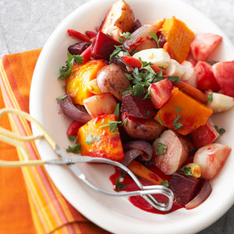 Crock-Roasted Root Vegetables