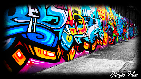Graffiti Wallpaper - screenshot