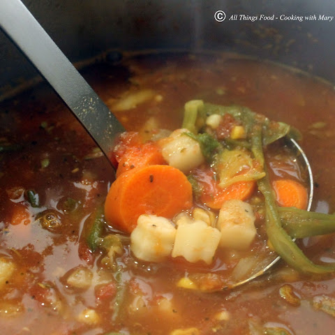 Farmers Market Vegetable Soup