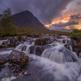 Buachaille Etive Mor by Maria Alexandra Abrunhosa - Landscapes Waterscapes