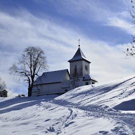 Zima bela by Bojan Kolman - Buildings & Architecture Places of Worship (  )