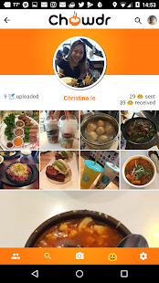 Chowdr Social Eating - screenshot