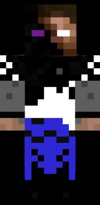 Minecraft Skin Herobrine dark herobrine - NovaS...
