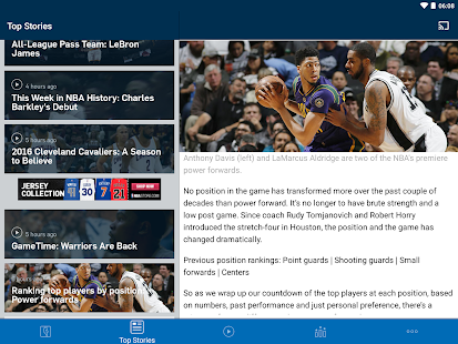 Free NBA APK for Windows 8