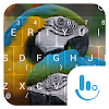 Colorful Parrot Keyboard Theme