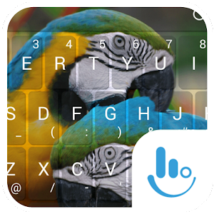 Cover art Colorful Parrot Keyboard Theme