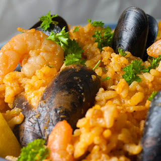 Seafood Paella Without Meat Recipes