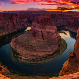 by Brian Menasco - Landscapes Sunsets & Sunrises ( #grandcanyon, #glencanyon, #horseshoe bend, #coloradoriver, #arizona )