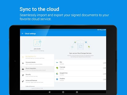 sign pdf documents on android tablet