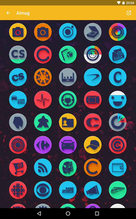 Almug - Icon Pack Screenshot 12
