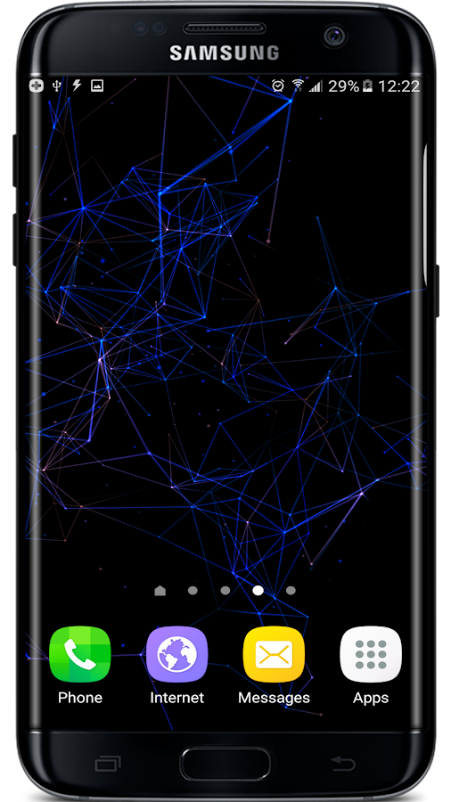 Particle Plexus Live Wallpaper Screenshot 7