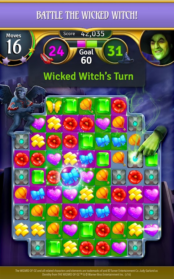 Wizard of Oz: Magic Match Screenshot 7