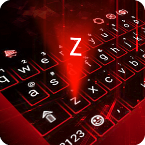 Hologram Neon Keyboard Theme For PC