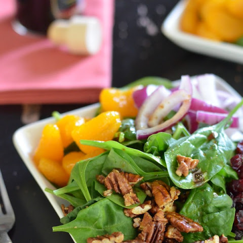 Super Sweet Spinach Salad