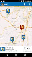 Screenshot of Fast Stop Markets App