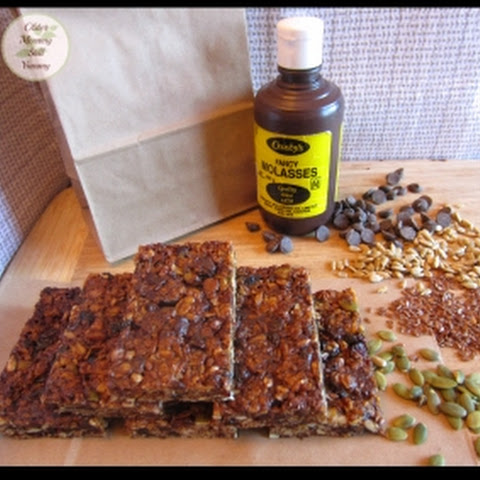 Granola Bars with a Molasses Twist!