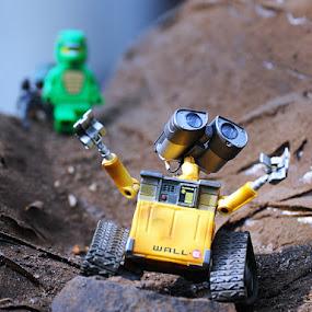 Wall-E by Kresnata Adijaya - Artistic Objects Toys ( wall-e, toys, robot )