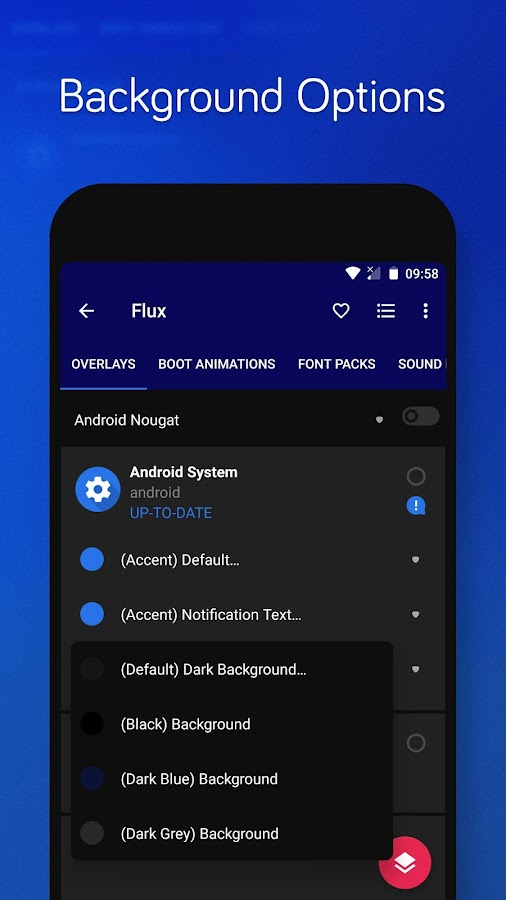 Flux - Substratum Theme Screenshot 14
