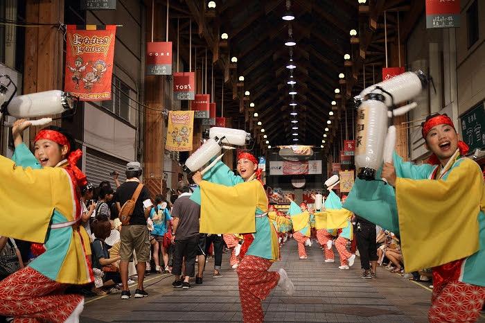 第61回よさこい祭り☆本祭2日目・はりまや橋競演場25☆上1目1440