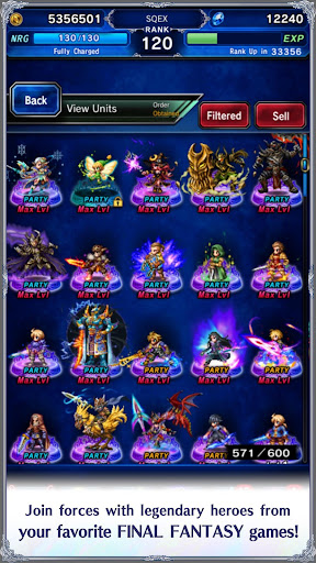 FINAL FANTASY BRAVE EXVIUS screenshot 23