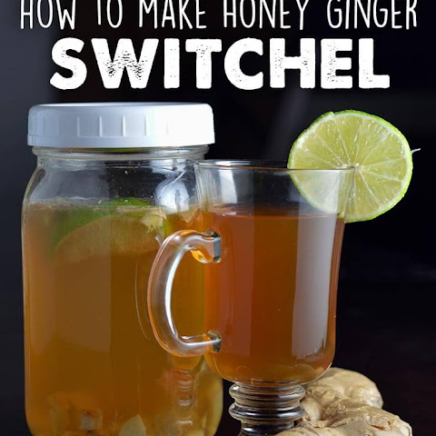 Ginger Honey Switchel