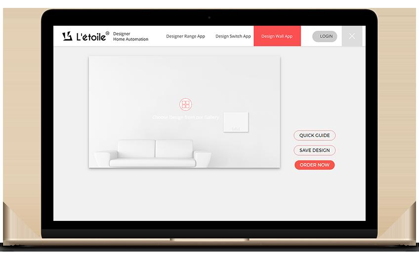design wall app