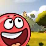 Red Rolling Ball Adventure 2