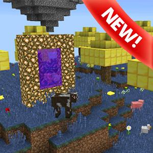 Рай карта для Minecraft PE