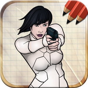 Easy Draw Ghost in the Shell