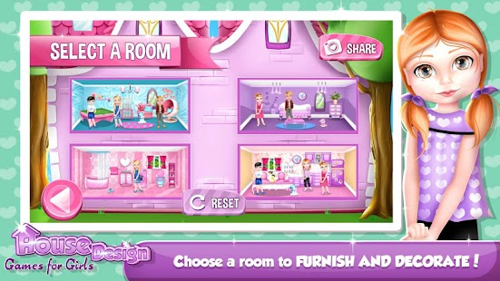 House Design Games for Girls - screenshot