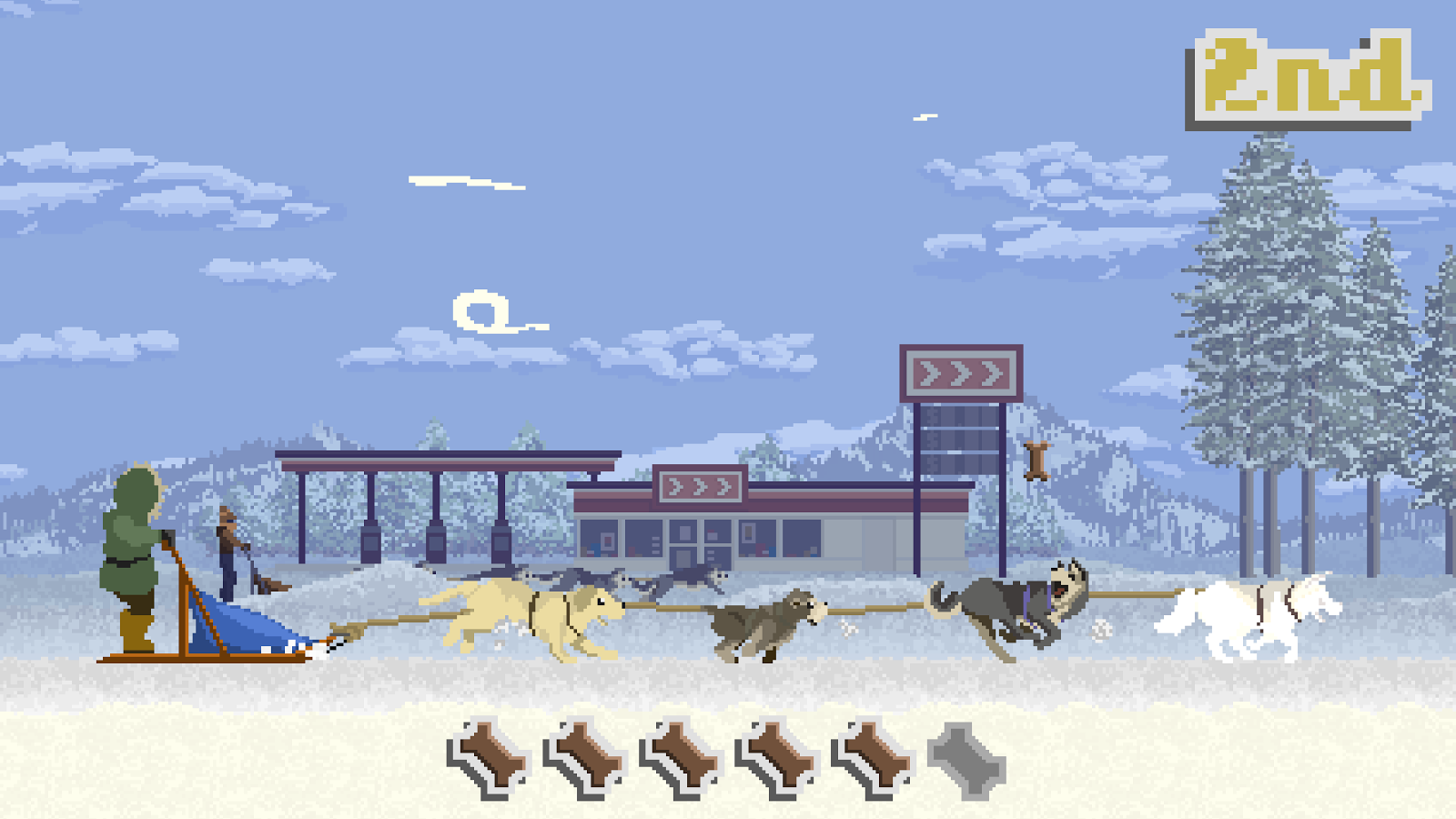 Dog Sled Saga Screenshot 1