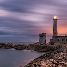 Sunset in Lighthouse by Maurizio Santonocito - Landscapes Sunsets & Sunrises ( d750, sunset, lighthouse, nikon,  )
