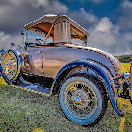 Antique Roadie by Ron Meyers - Transportation Automobiles