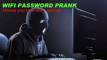 Screenshot of WIfi Password Prank