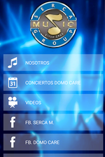 SERCAMUSIC - screenshot